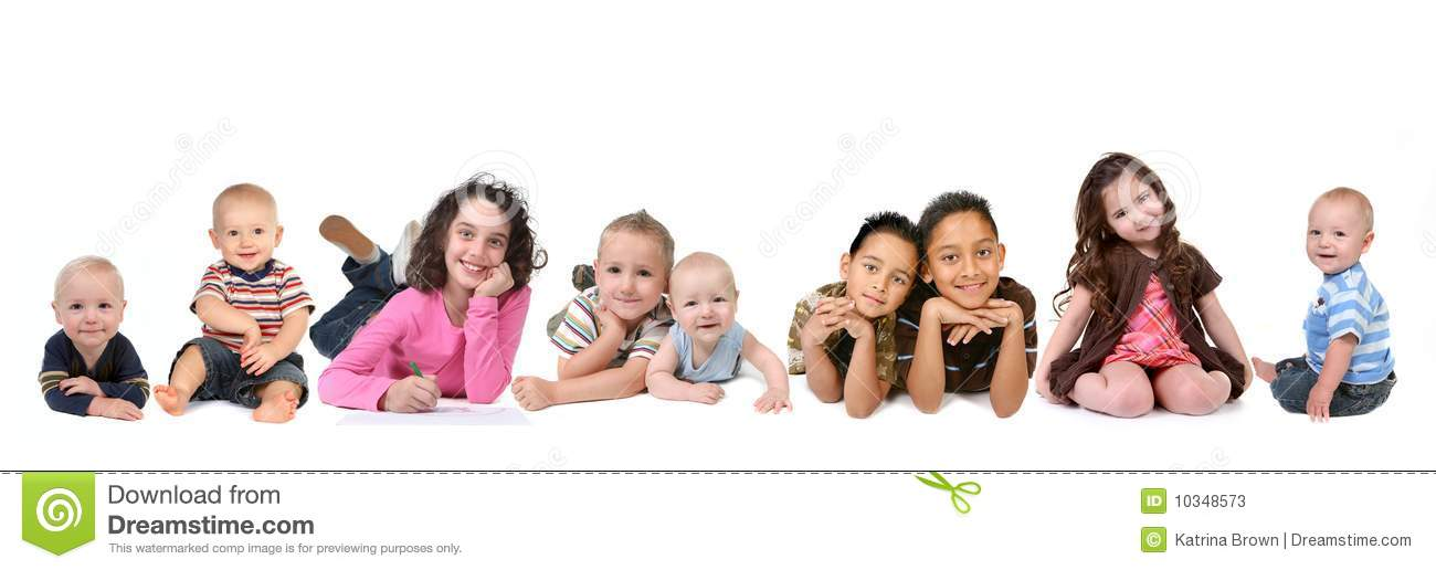 Multiple Ethnicities Of Children Of All Ages Stock Photos - Image ... Giggle Clipart