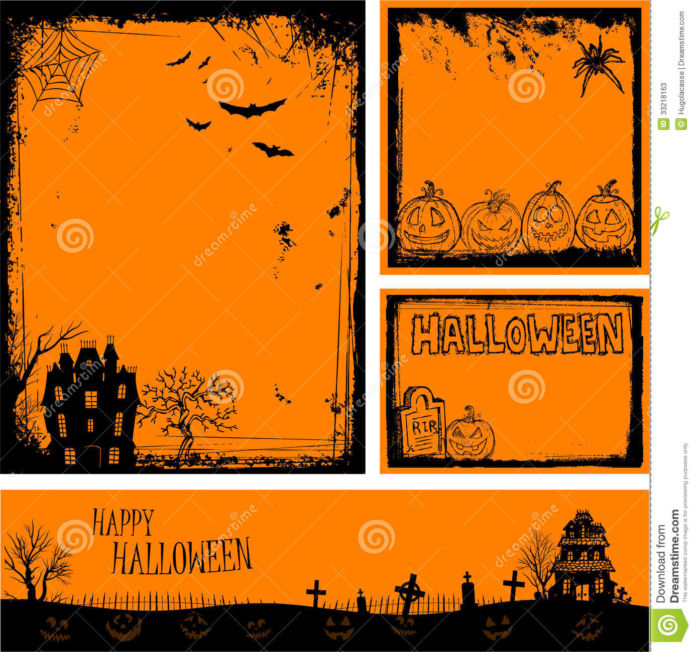 Halloween Party Invitation Cards for great invitation sample