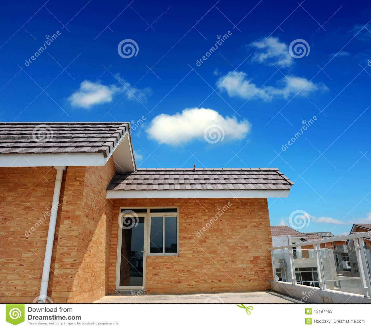 Multiple Roof Lines Stock Photos Image 13187493