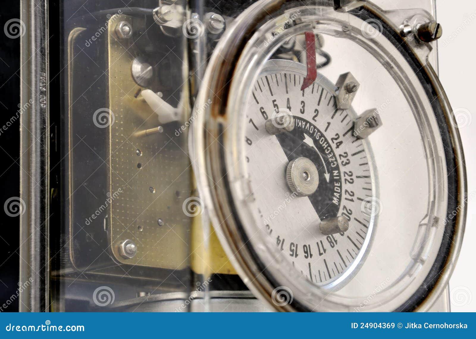 Multiple tariff meter