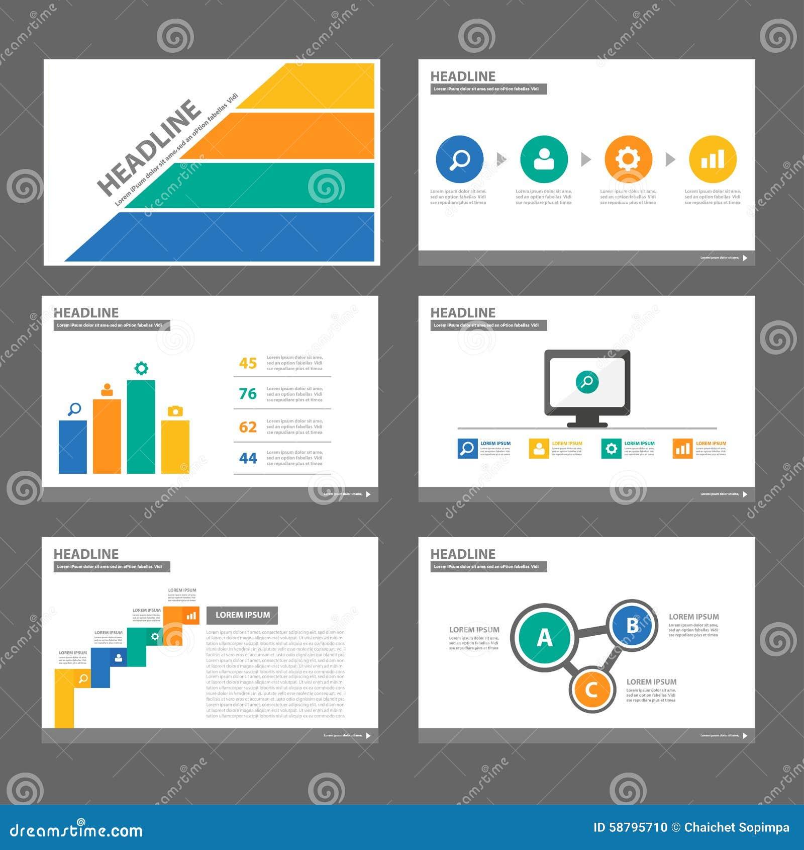 Multipurpose Infographic Presentation Brochure Flyer Leaflet Website ...