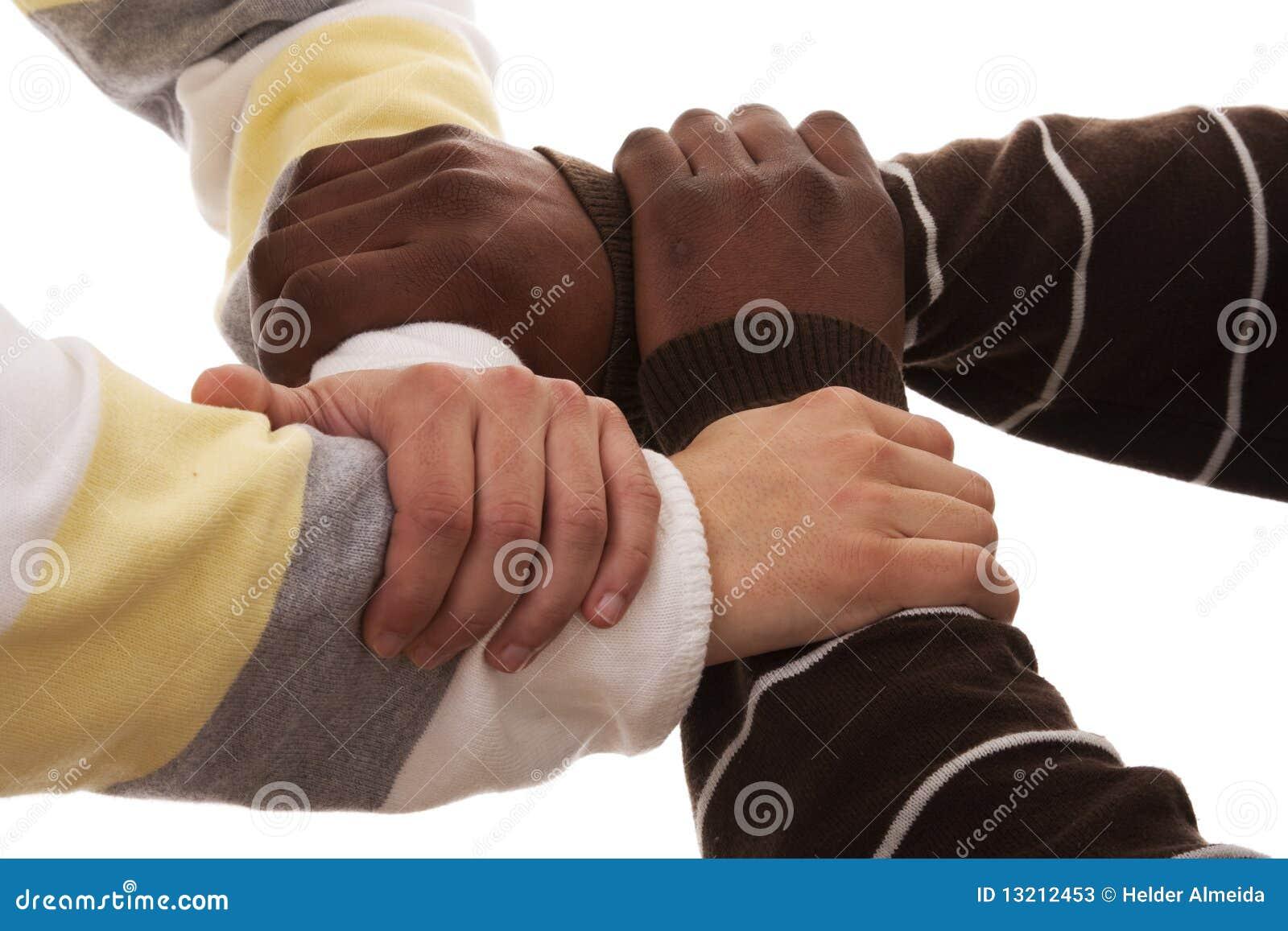 Multiraciaal team