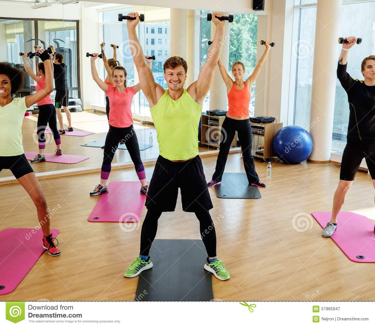 Free download aerobic exercise steps videos.