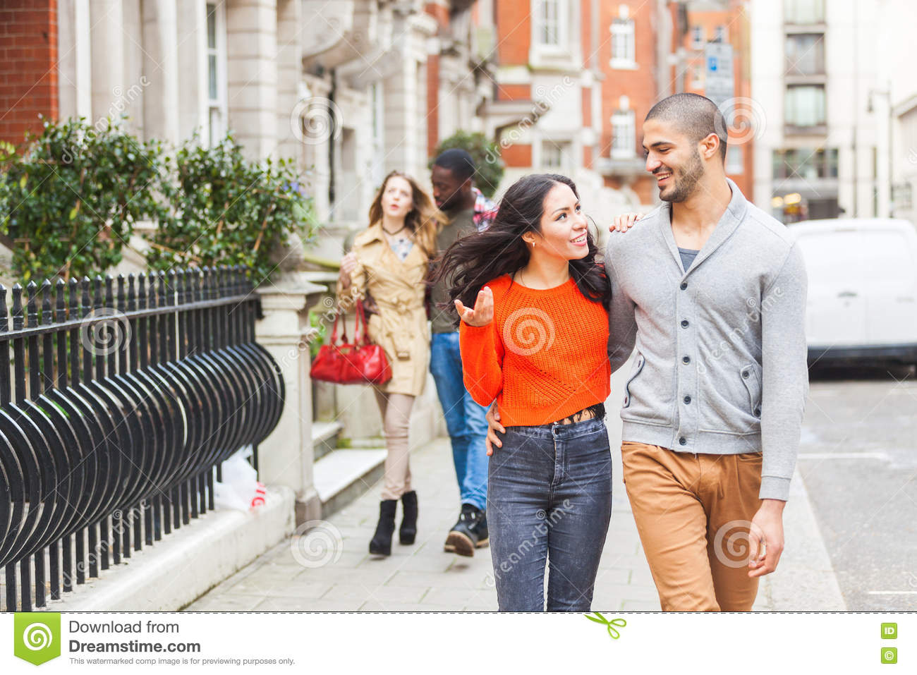 Group of diverse people talking together Photo   Premium ...  Multicultural People Talking Together
