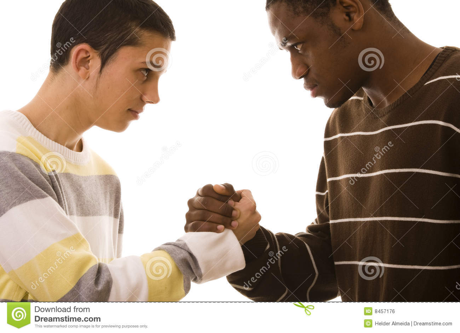 Multiracial konfrontation