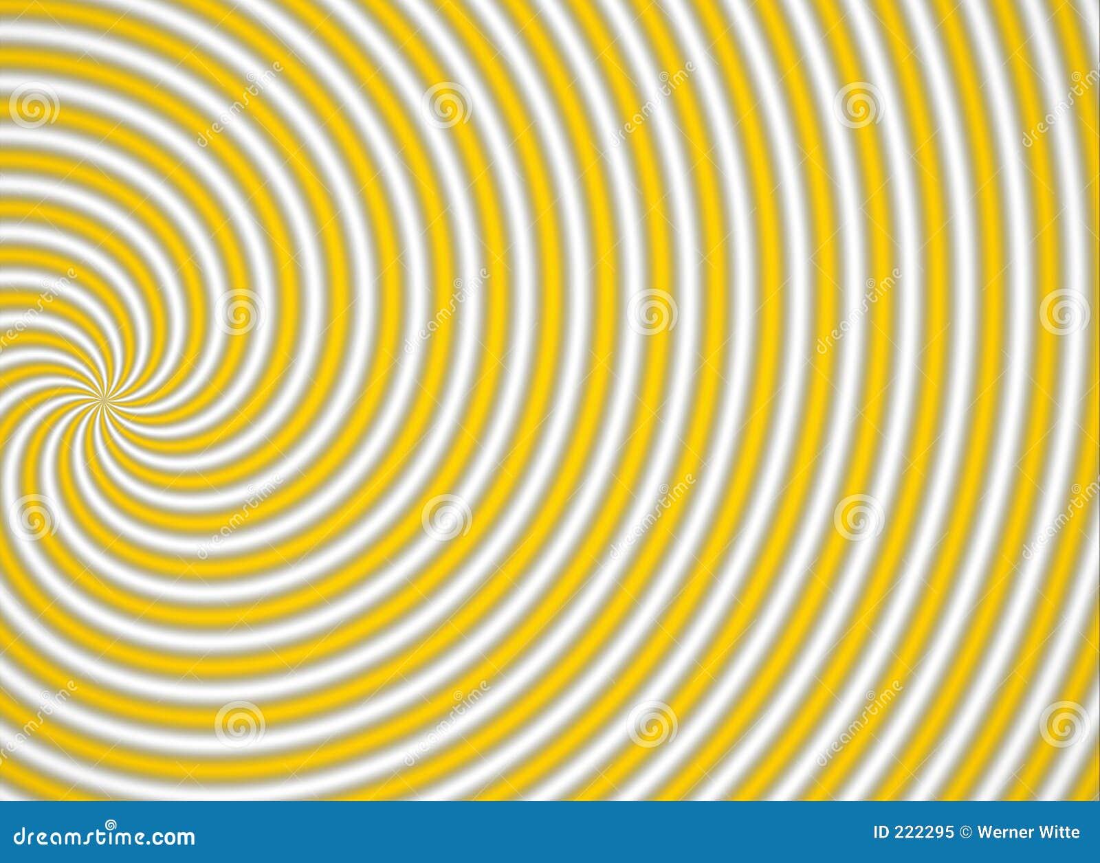 Multispiral żółty