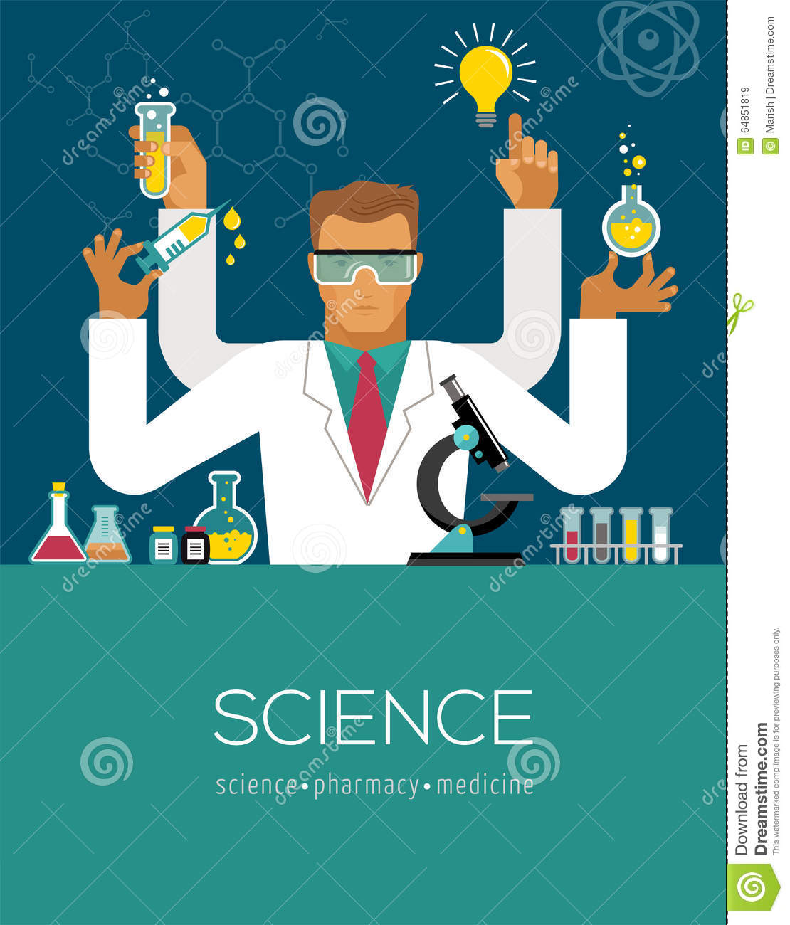 2798 Lab Coat Stock Vector Illustration And Royalty Free