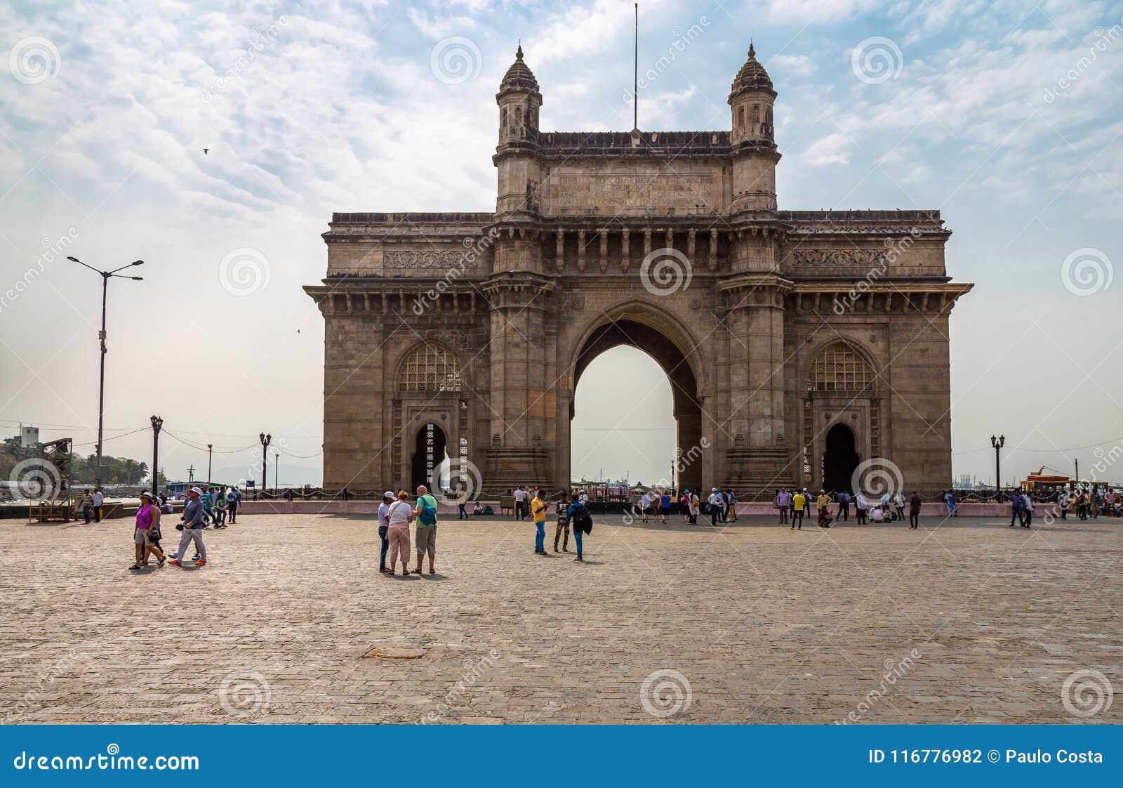 Mumbai της Ινδίας πυλών