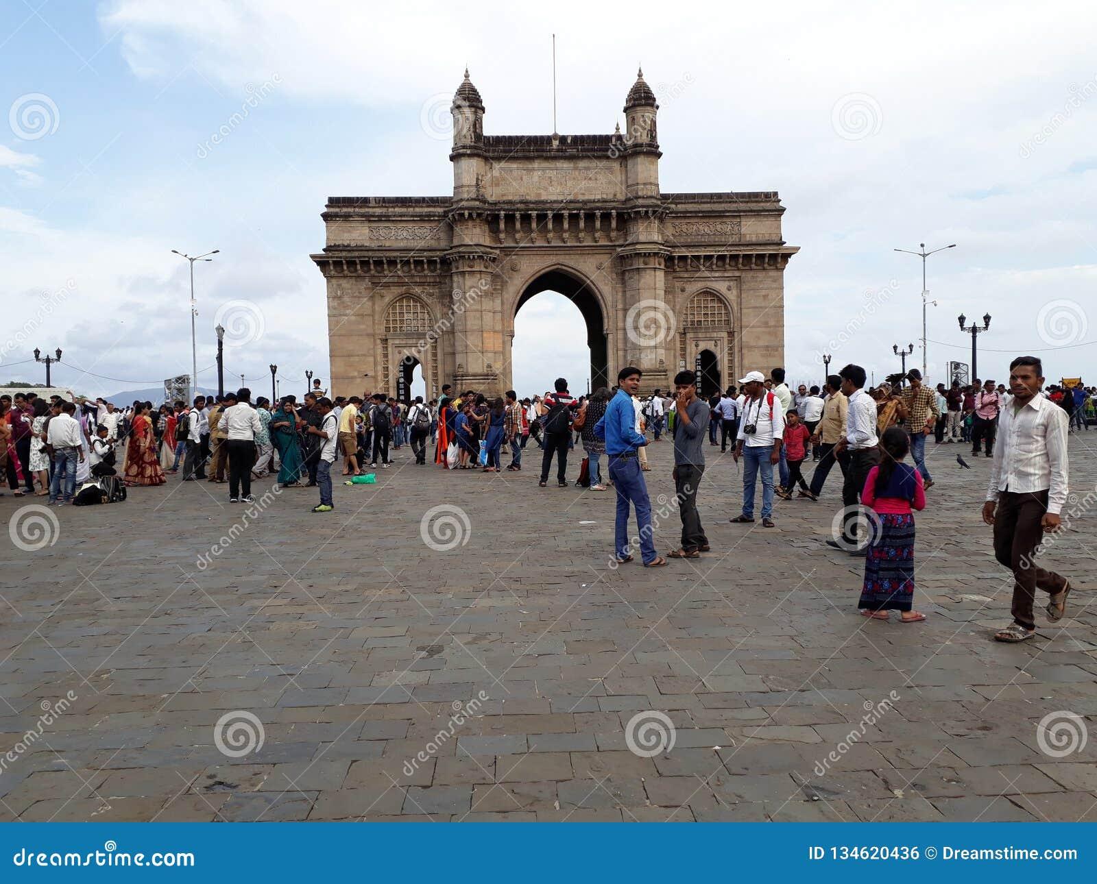 Mumbai Индии строба