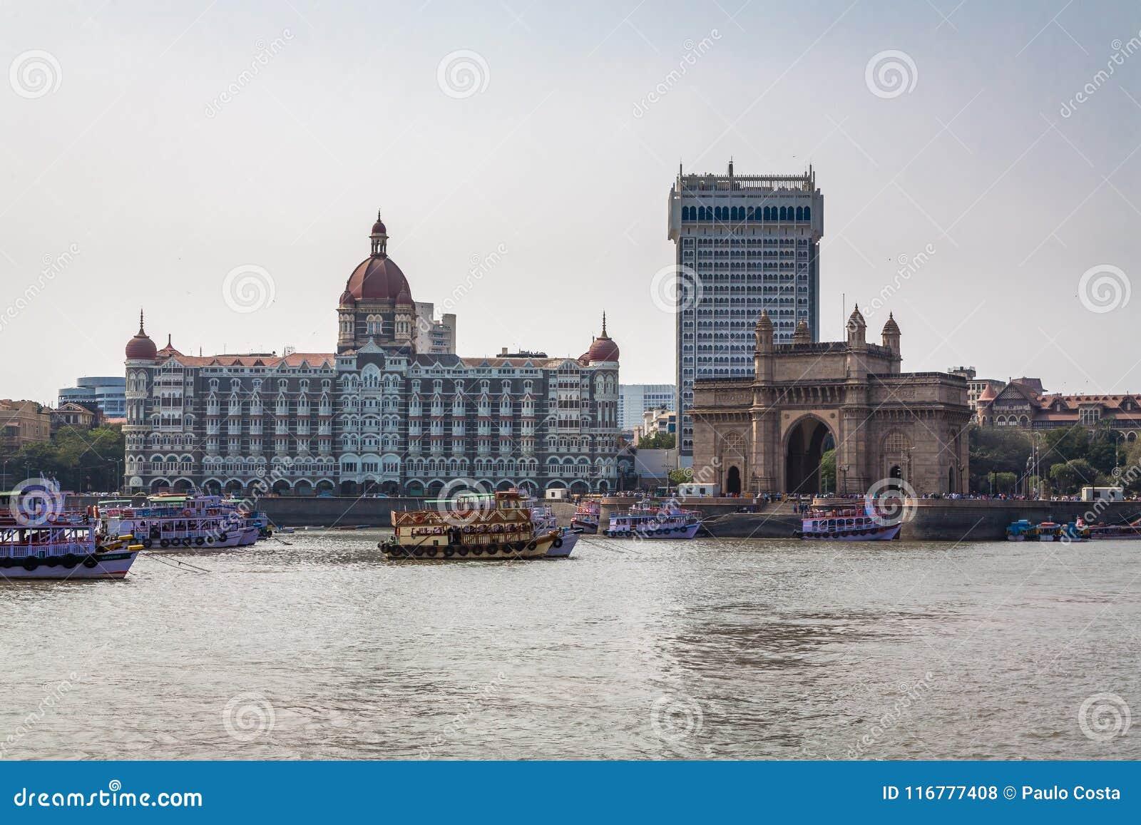 Mumbai Индии шлюза
