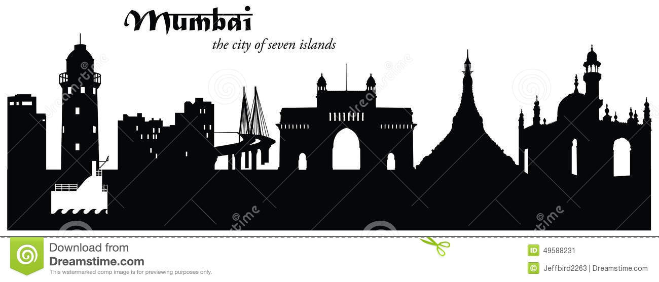 mumbai skyline cityscape silhouette stock vector free lighthouse clipart business cards free lighthouse clipart with thank you