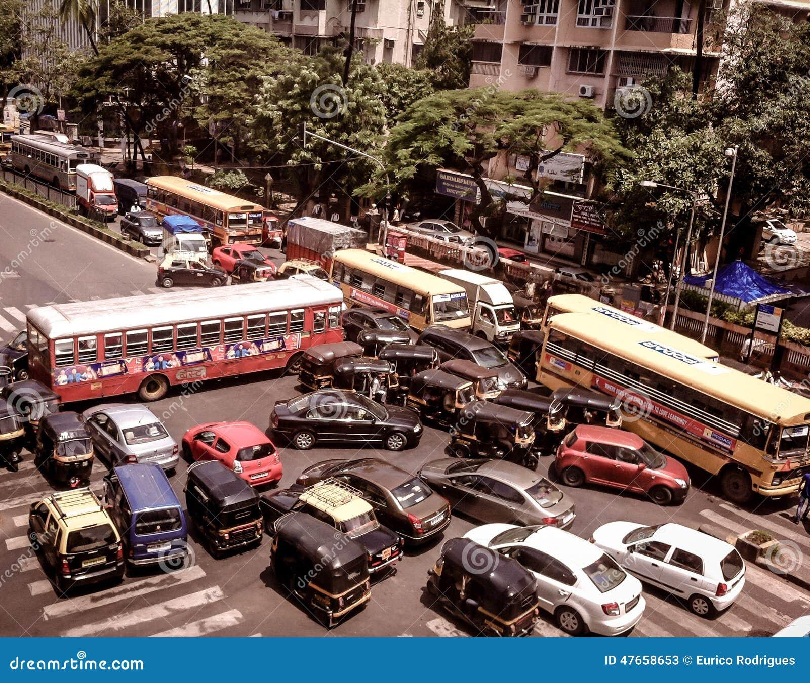 Traffic jam on Mumbai-Goa highway after landslide