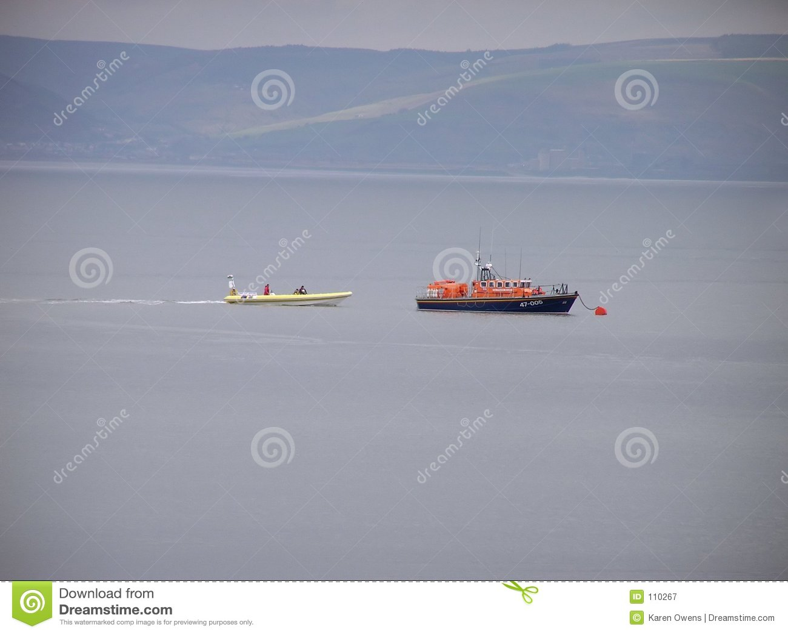 Mumbles-Rettungsboot