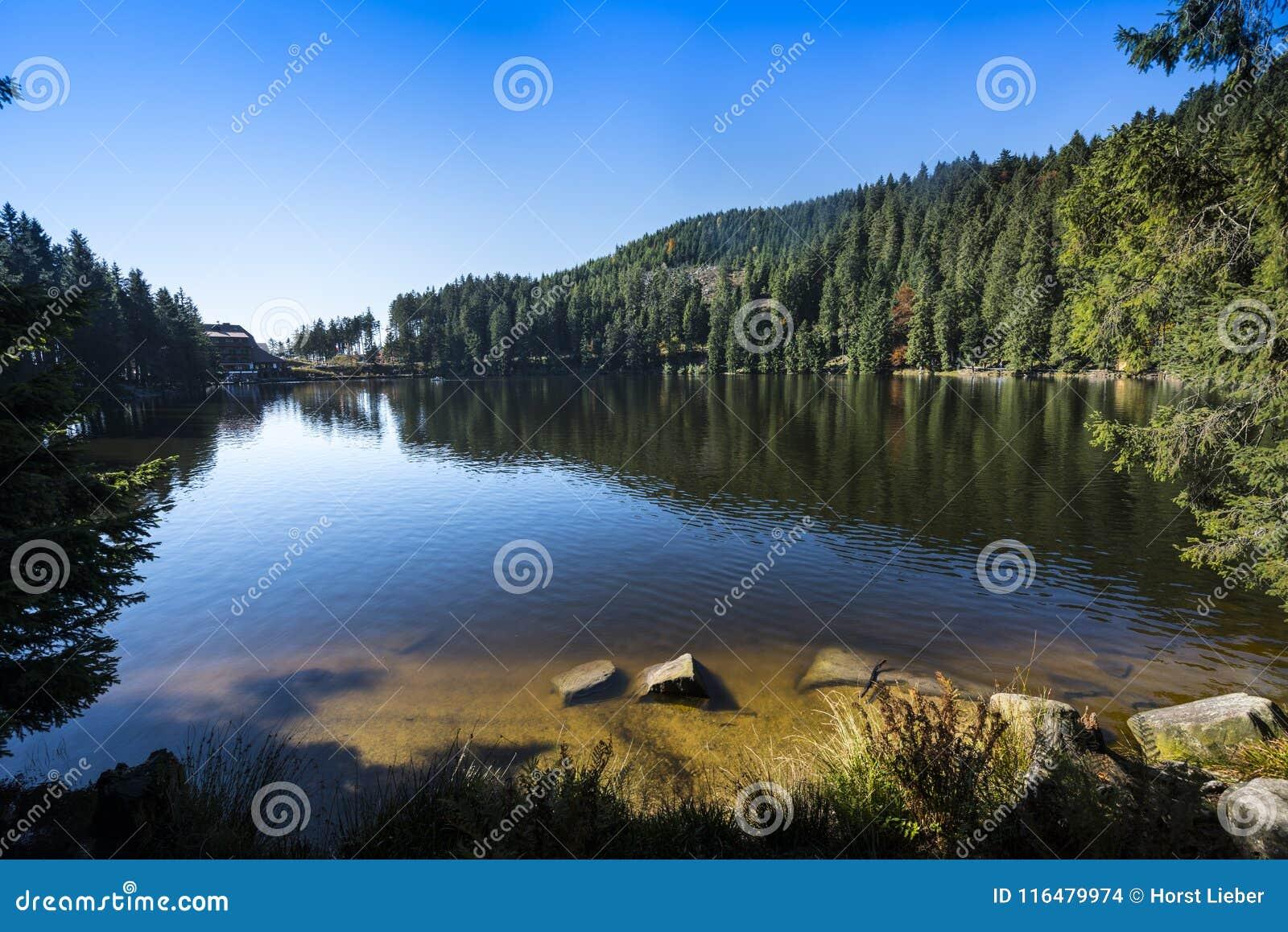 Mummelsee - Baden Wuerttemberg, Duitsland