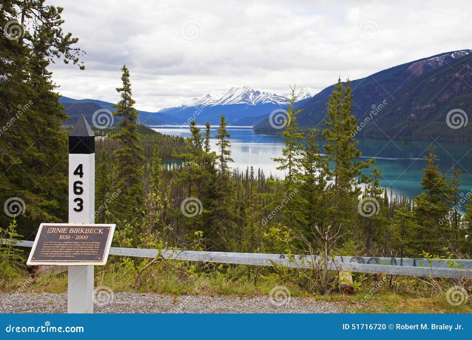 Muncho Lake Alaska Highway Canada
