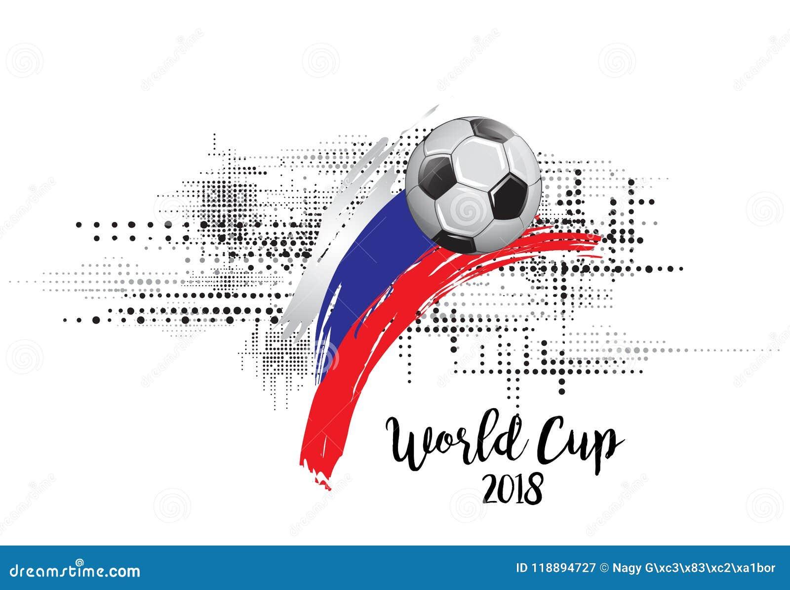 Mundial Rusia 2018 BANDERA DE LA NACIÓN DEL FÚTBOL EJEMPLO DE LA PLANTILLA DEL EQUIPO DE FÚTBOL FONDO PINTADO DEL GRUNGE DEL ARTE