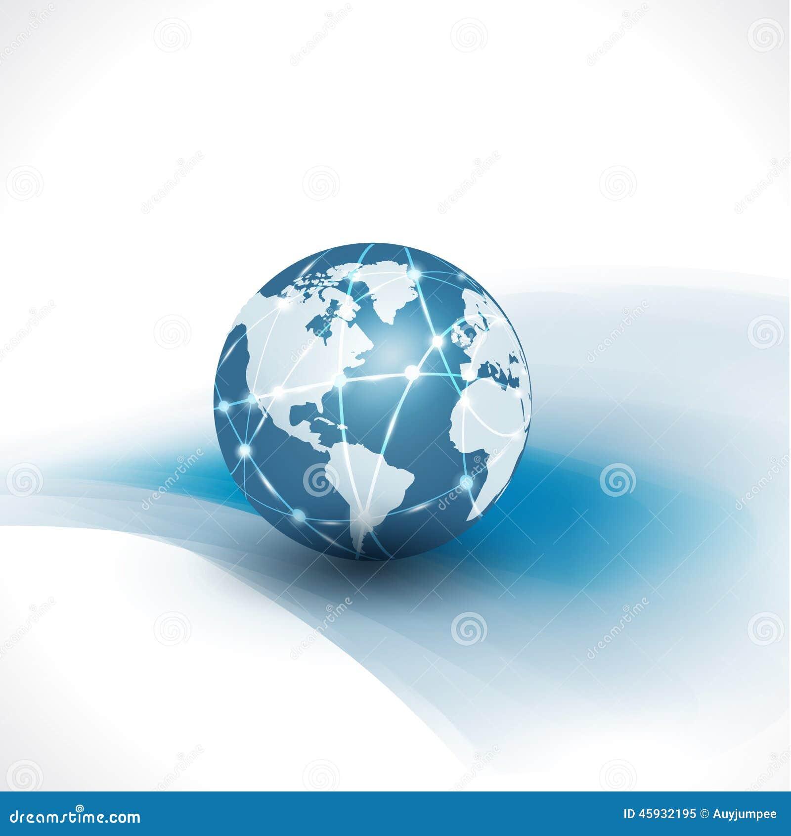 Mundo de la comunicaci n y fondo blanco del aislante del for Todo tecnologia