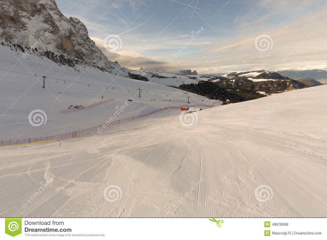 Mundo Ski Men Ita Downhill Race