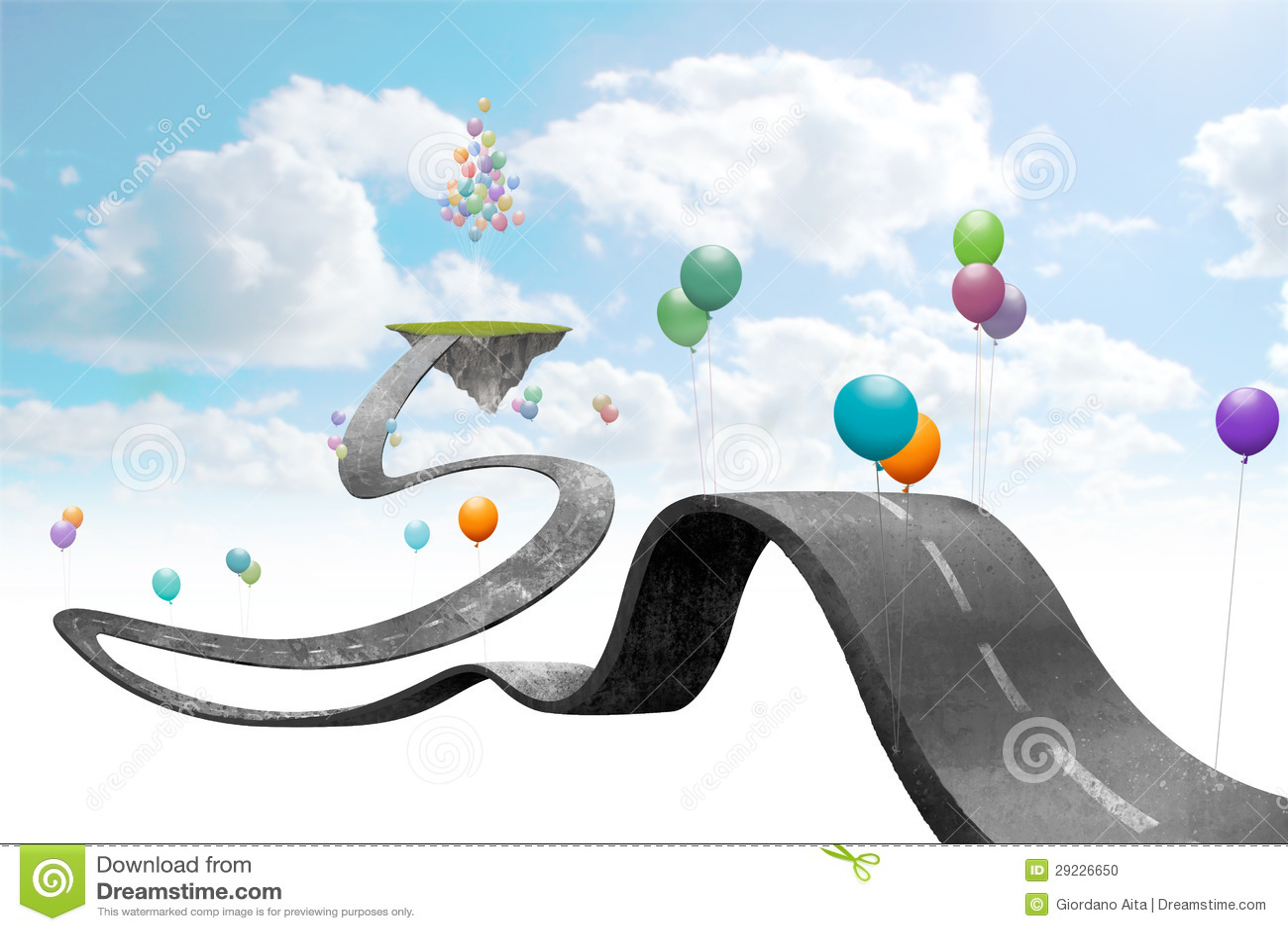 Download Mundo suspendido ilustração stock. Ilustração de ilustração - 29226650