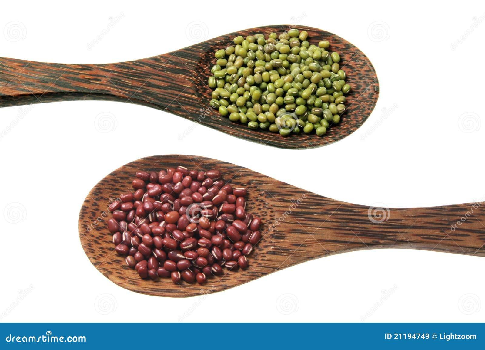 Mung Bean and Azuki Bean