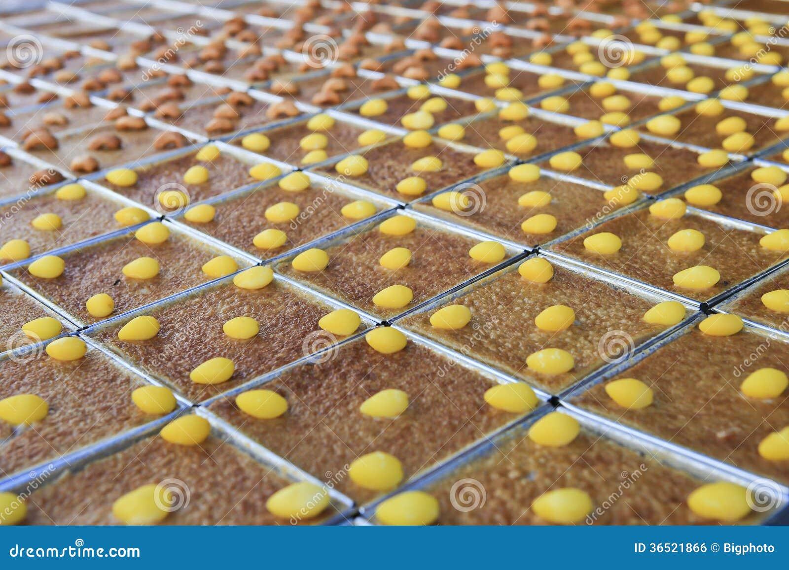 Mung fasoli Tajlandzkiego Custard Deserowy przepis (Khan trawieniec Kaeng)