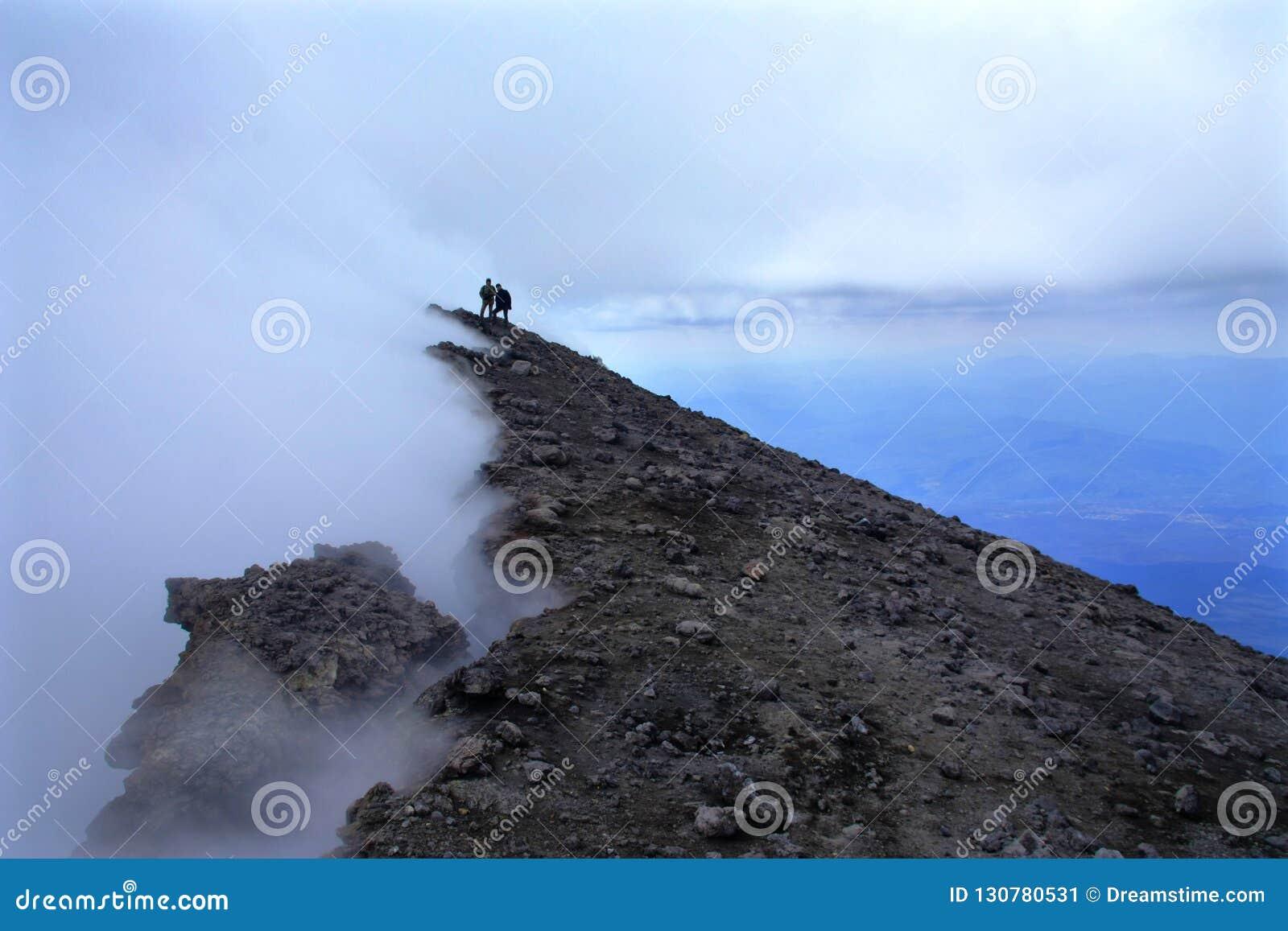 Mungibeddu aka Mt. Etna is the highest european volcano.