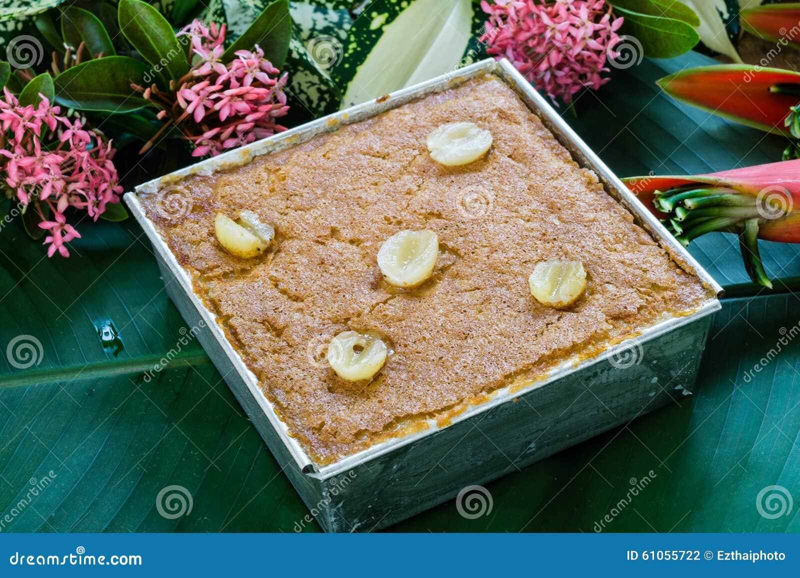 Mungobohne thailändisches Vanillepudding-Nachtisch-Rezept