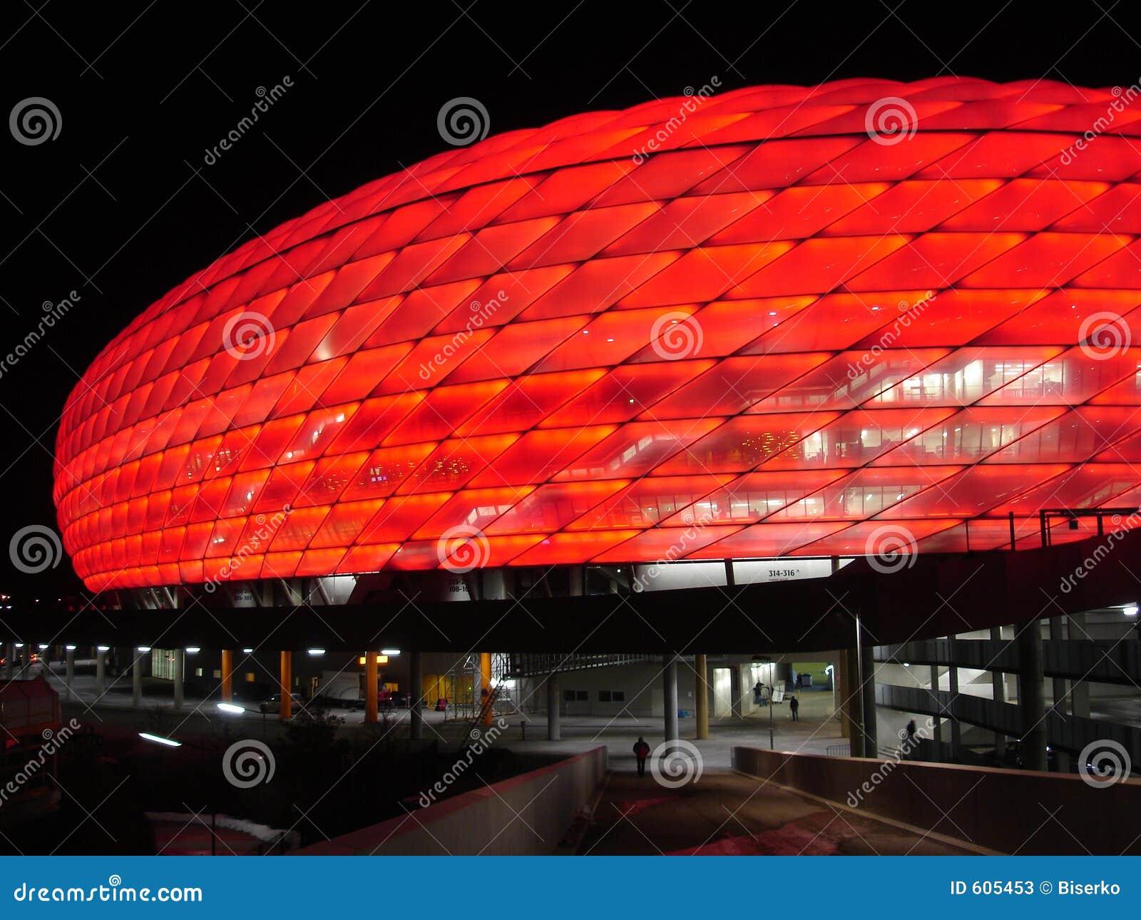 Munich Arena New Soccer Stadium Editorial Stock Photo