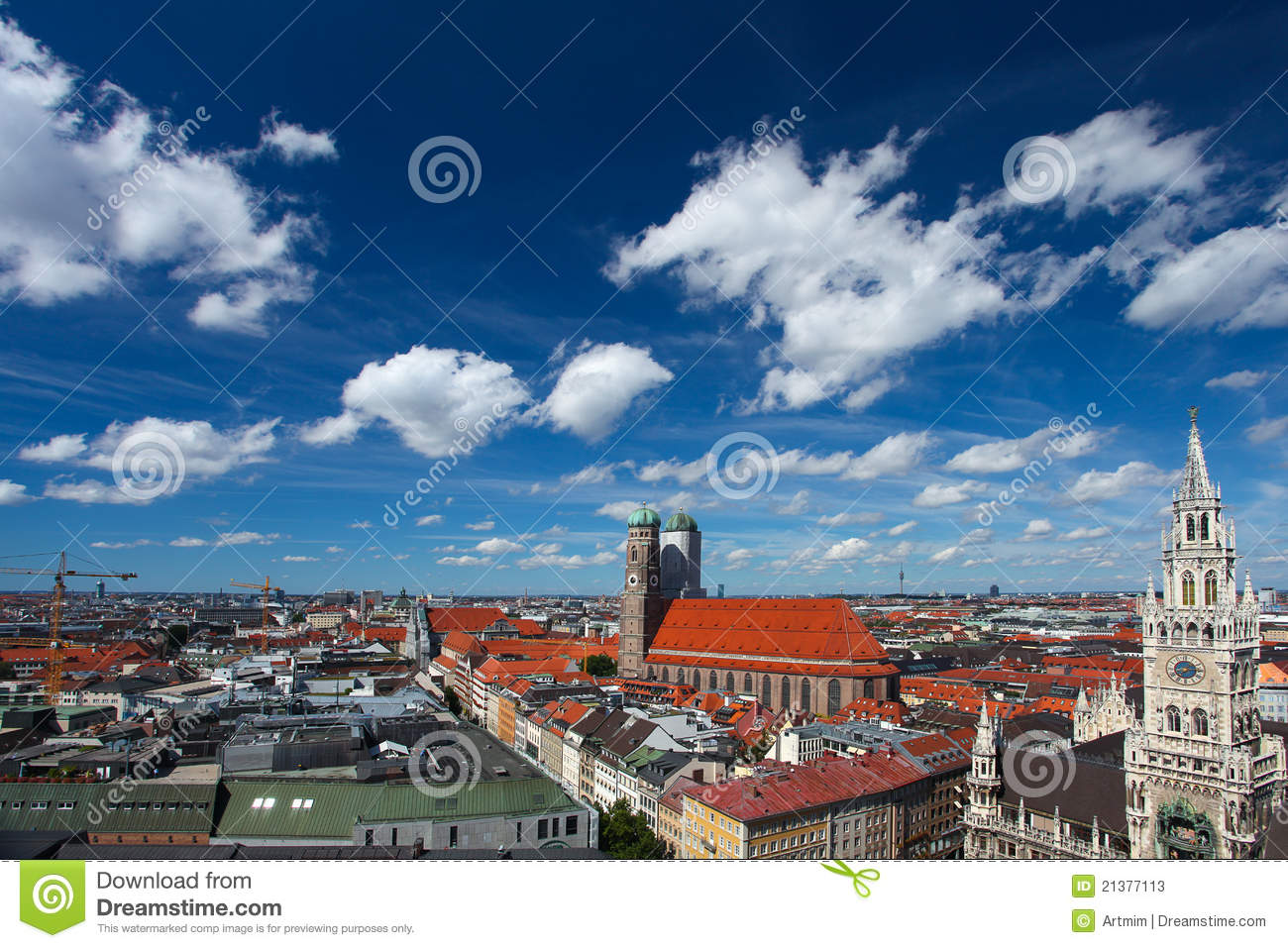Historic B&W photos of Munich, Bavaria, Germany in the 19th ...