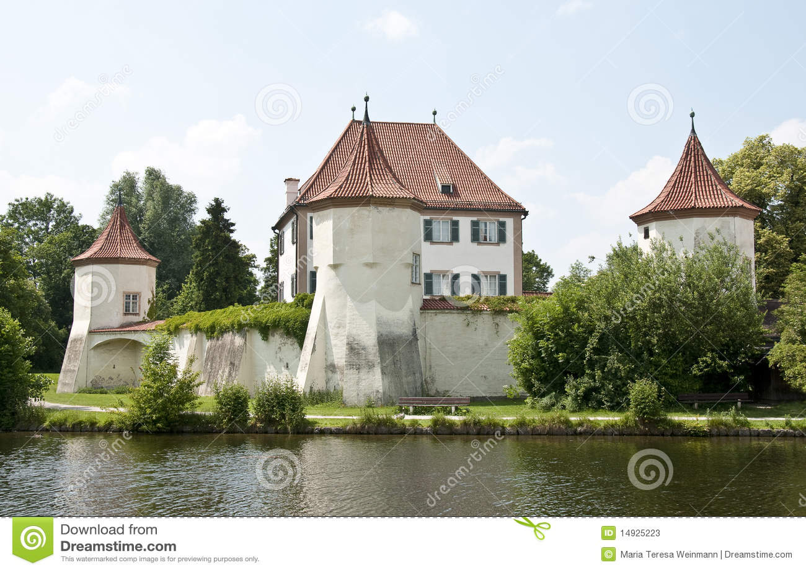 Munich - blutenburg castle