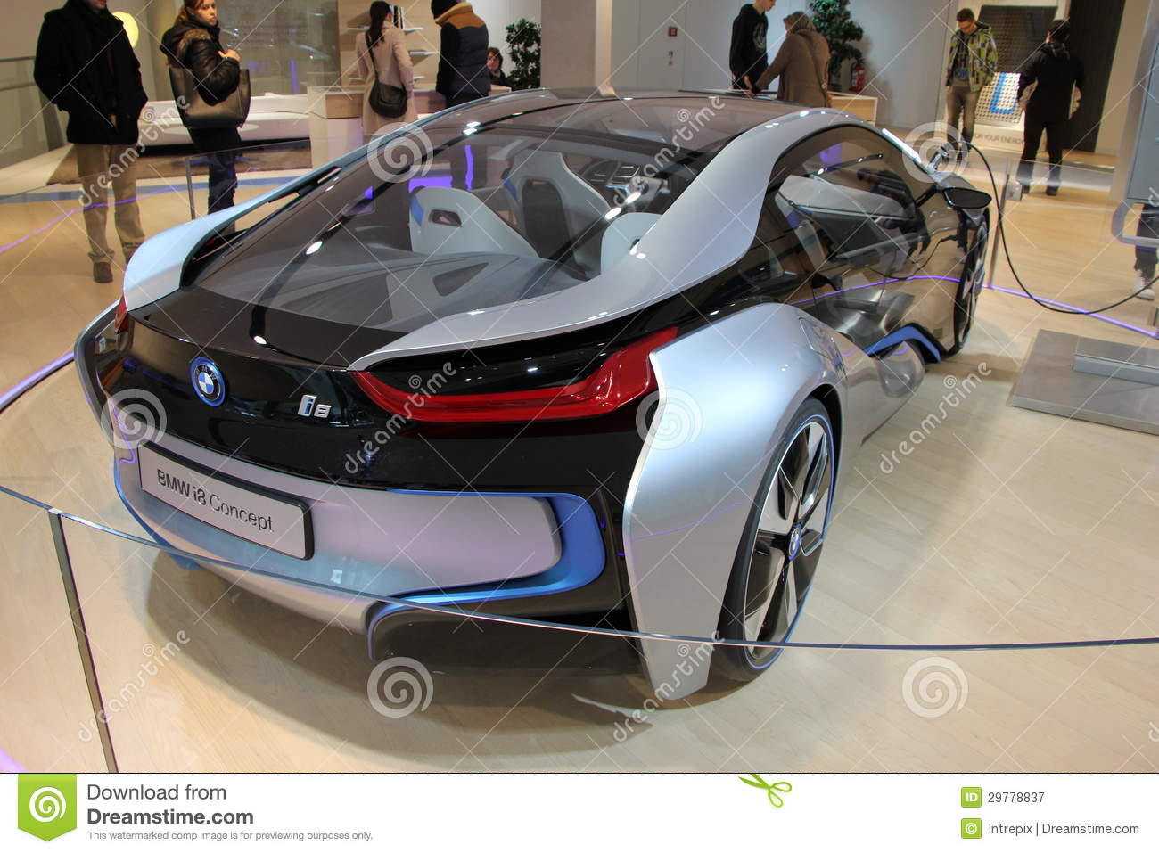 Bmw I8 Electric Concept Car Editorial Photography Image Of