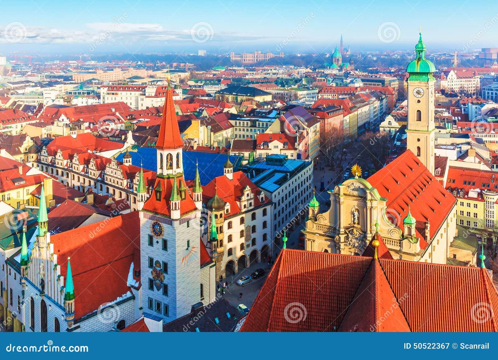 Munich Germany Stock Photo Image 50522367