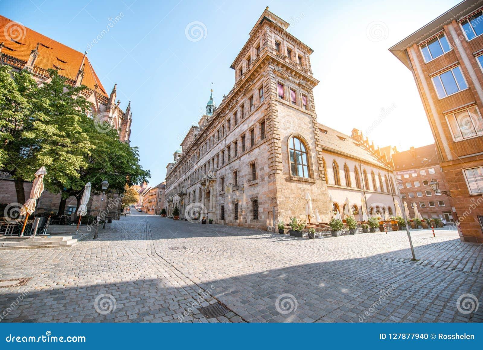 Municipio in Nurnberg, Germania