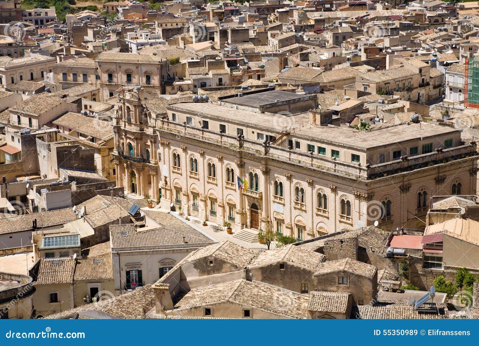 Municipio, Scicli, Sicilia