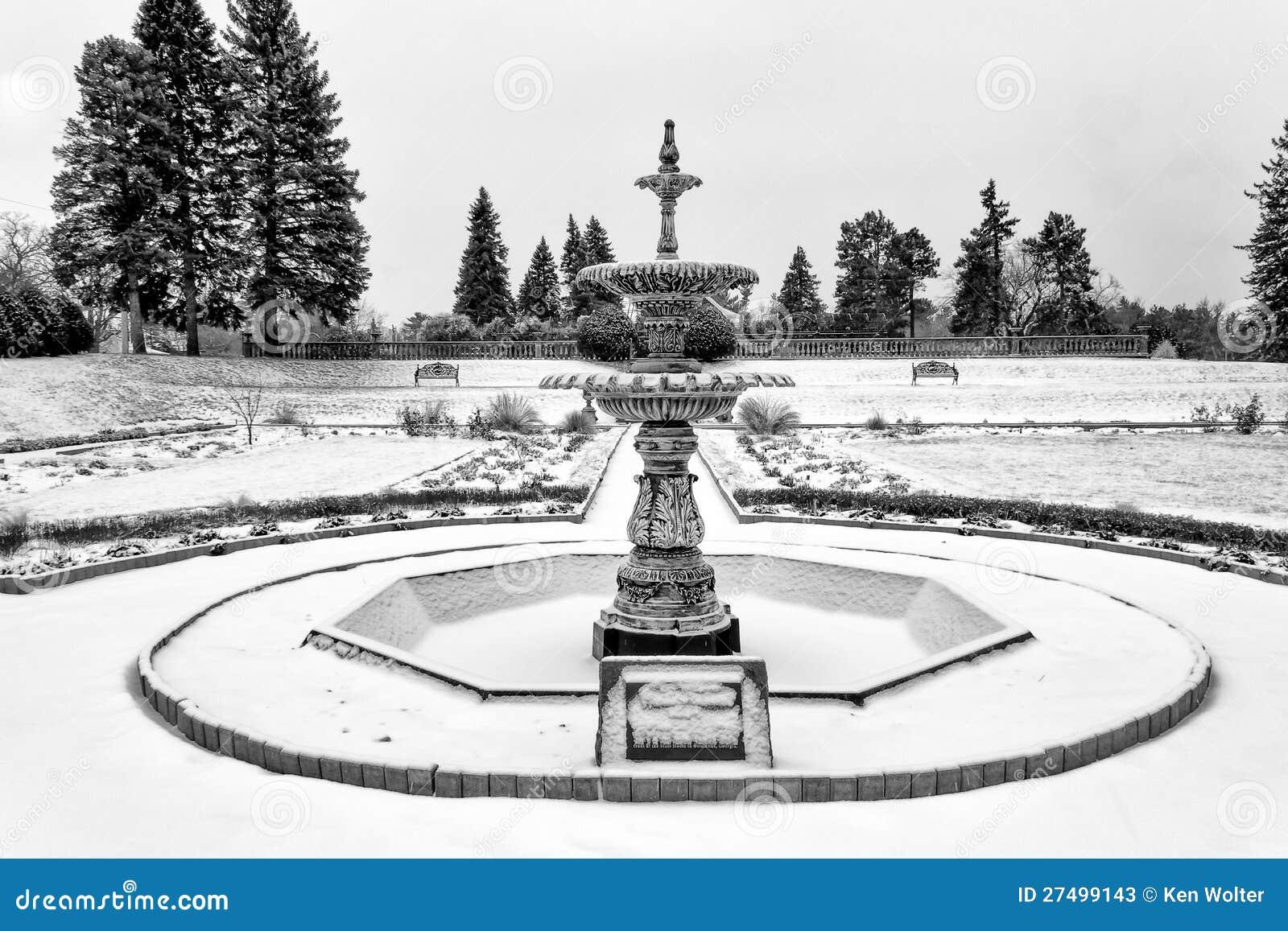 Munsinger Gardens In Winter Stock Photos Image 27499143