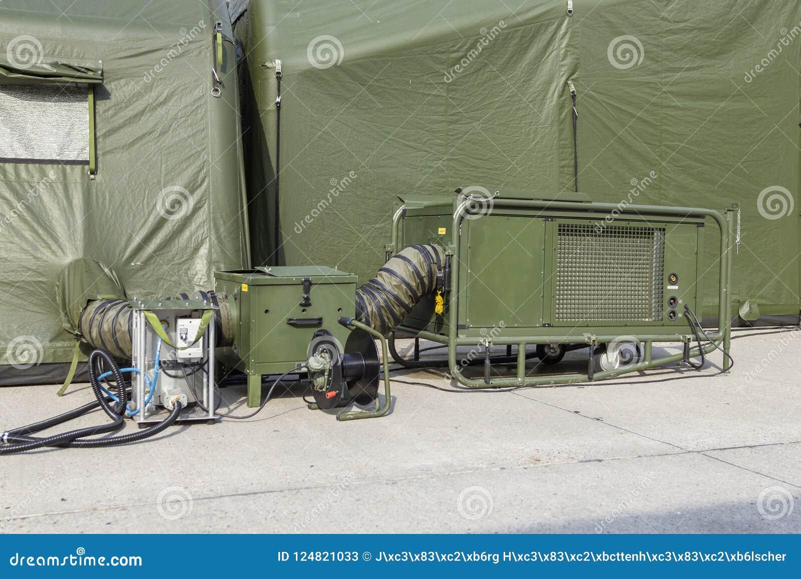 German military field hospital