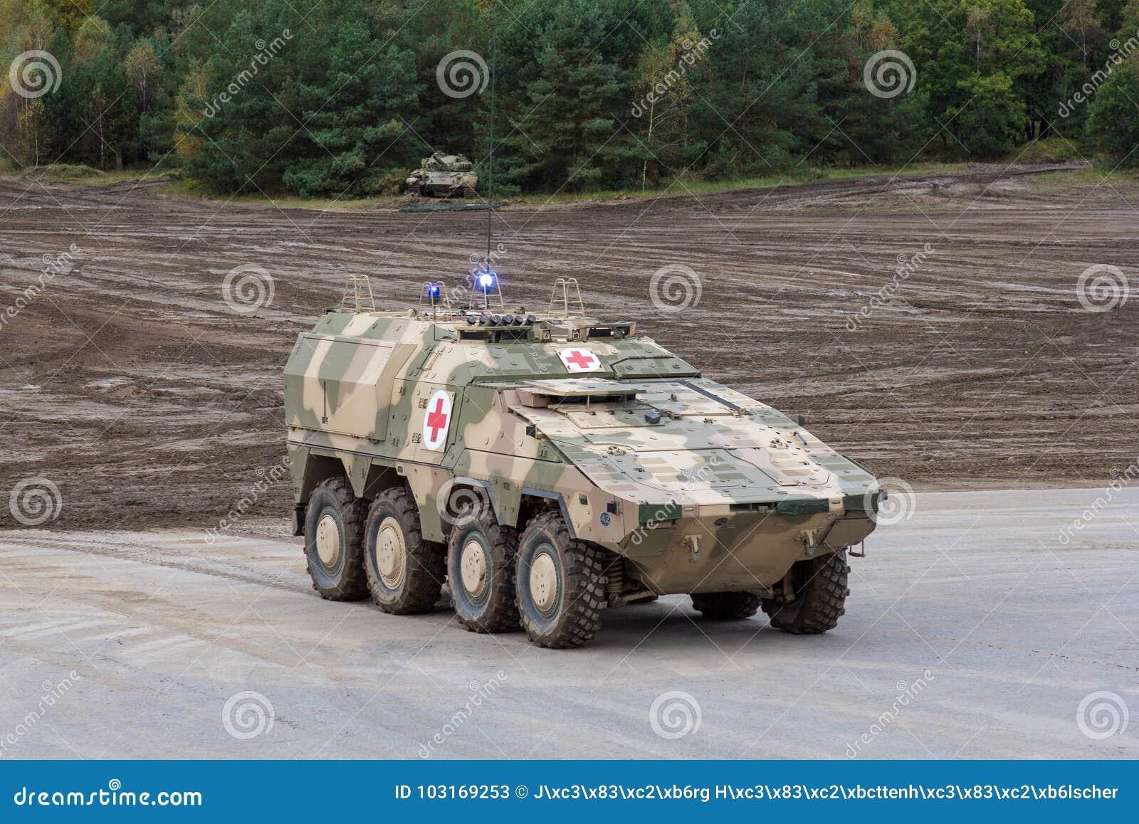 German GTK Boxer, Medic Version From Kmw And Rheinmetall