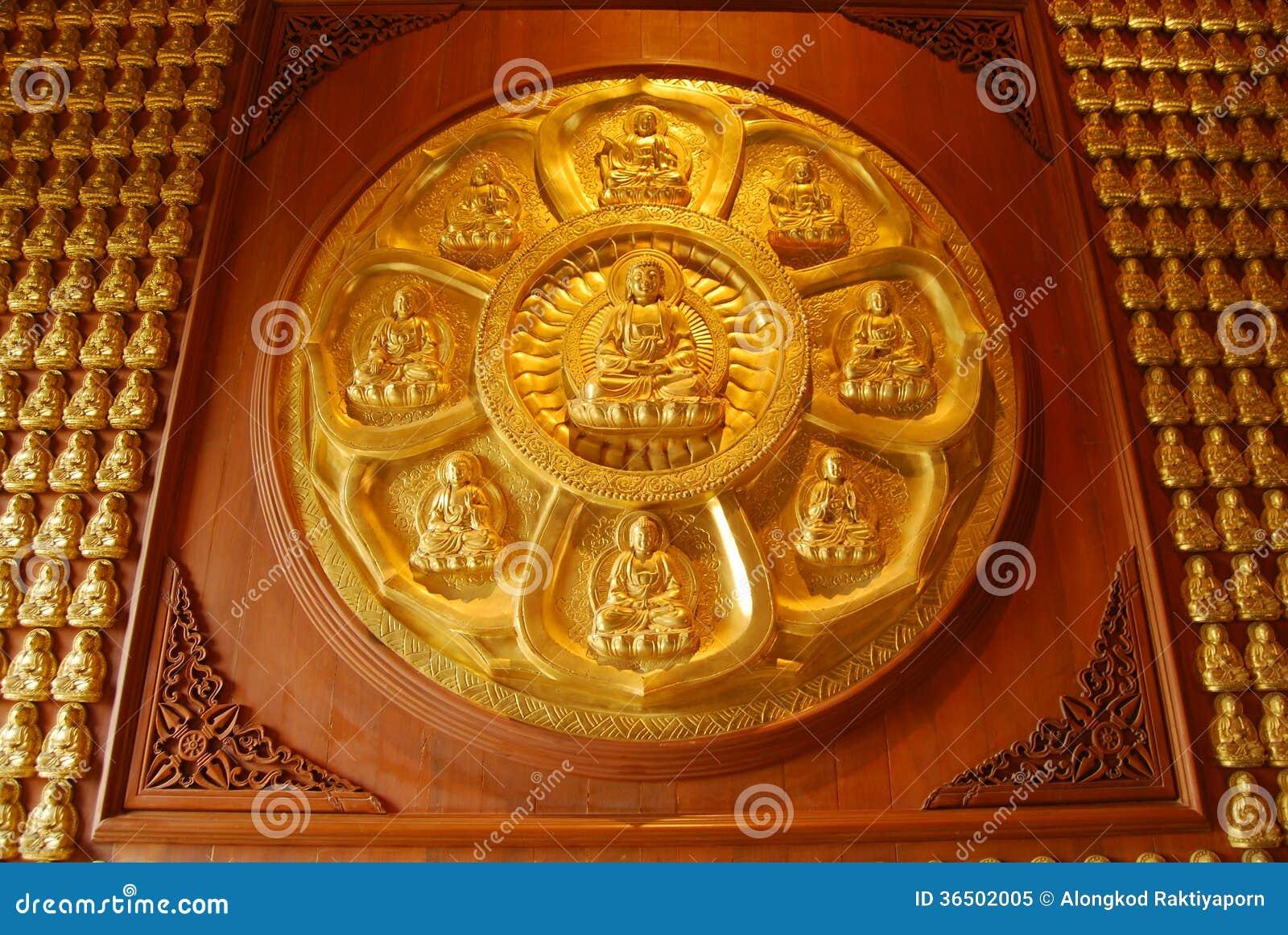 Mur de Bouddha.