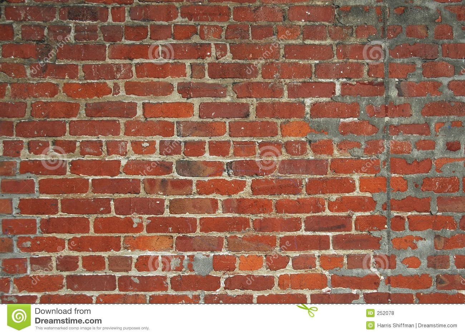 mur de briques photos libres de droits image 252078. Black Bedroom Furniture Sets. Home Design Ideas