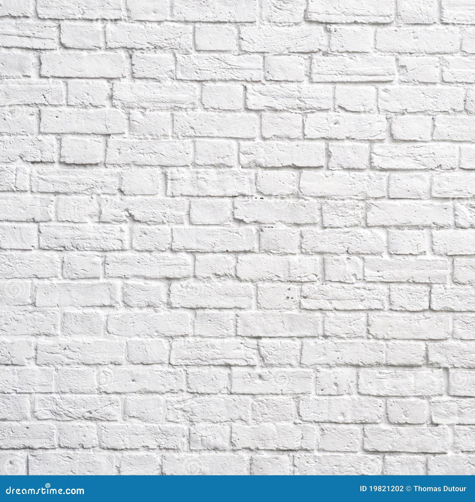 mur de briques blanc photo stock image du d cor. Black Bedroom Furniture Sets. Home Design Ideas