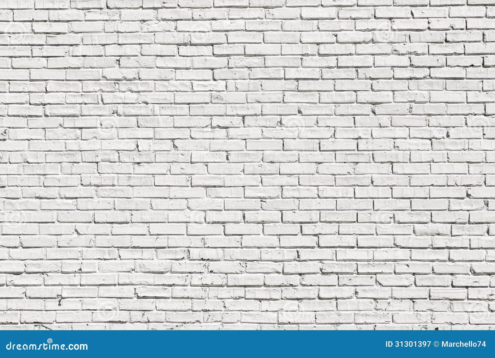 Mur Effet Brique Blanche mur de briques blanc image stock. image du effet, lumière