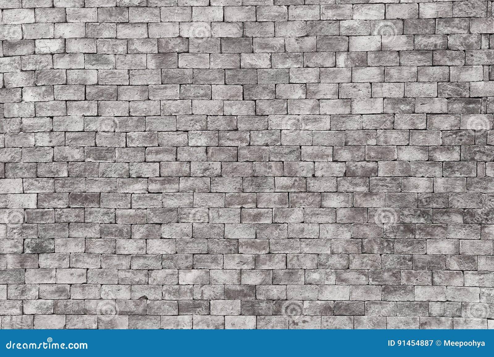 Mur De Briques Blanc Dans L Architecture De Décoration Pour Le Backg De  Conception