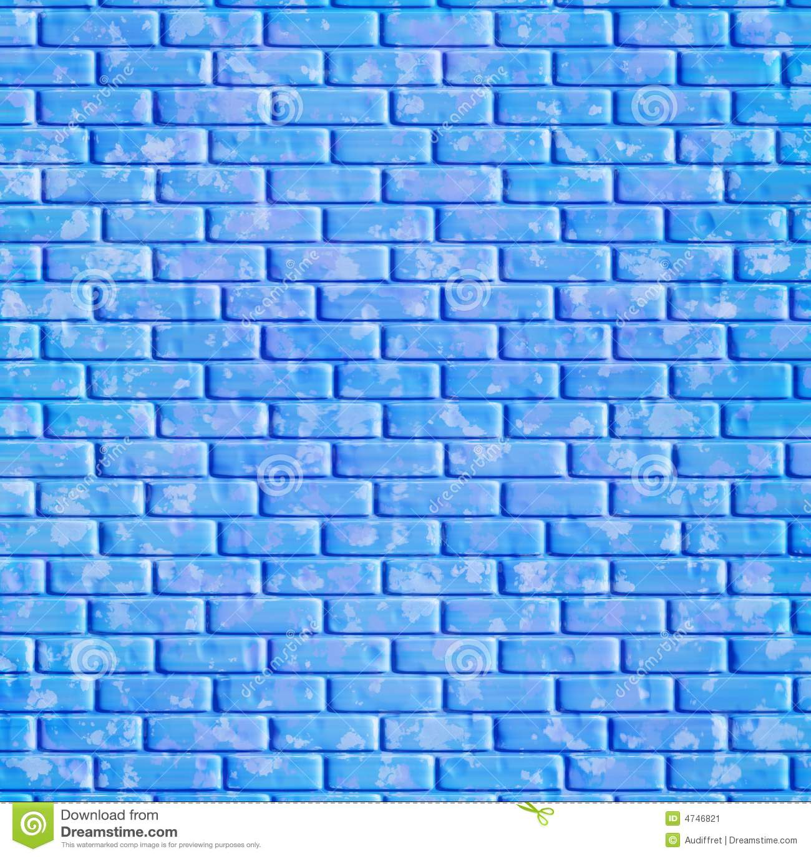 Mur de briques bleu, fond