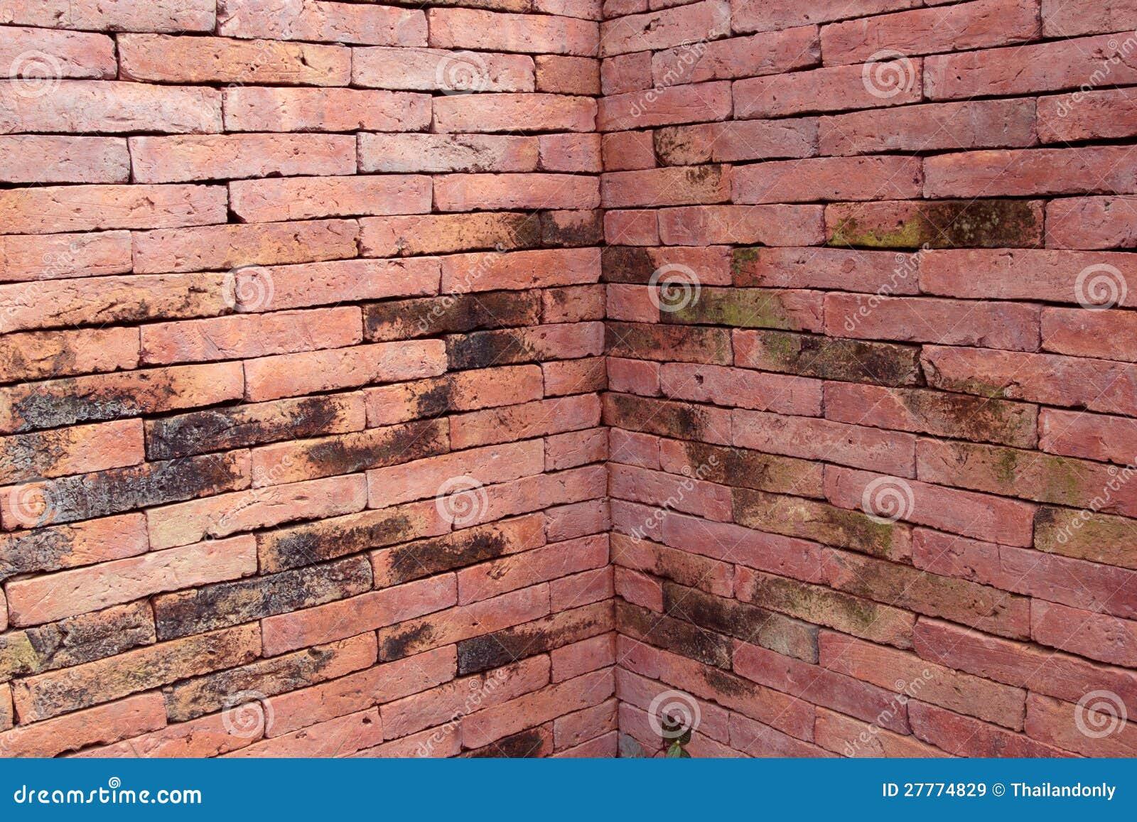 Mur de briques carré