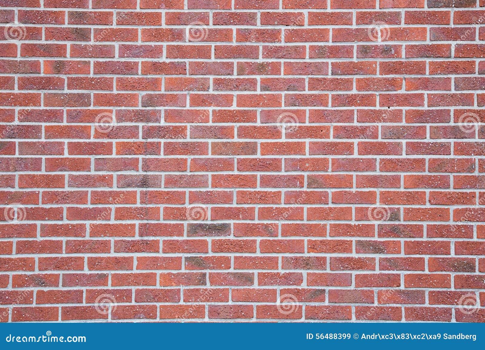 Mur de briques coloré rouge antique