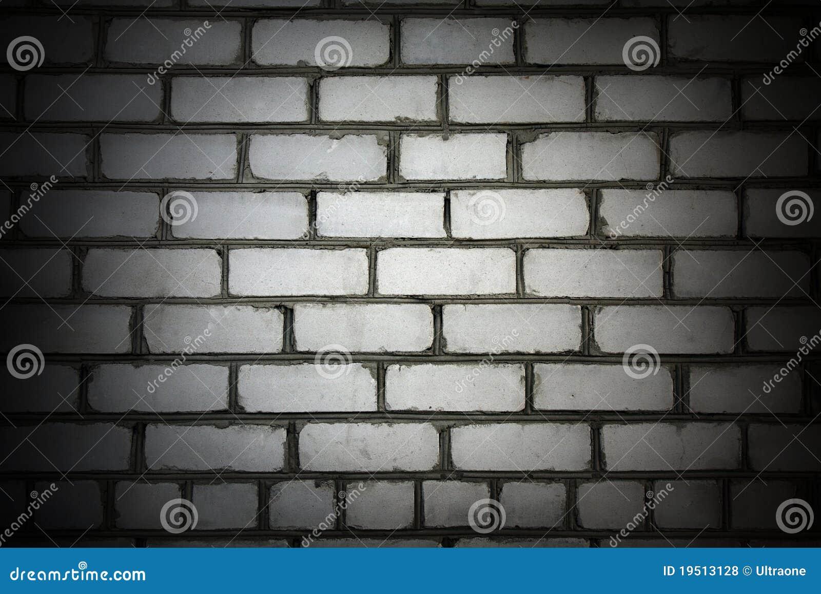 mur de briques de blanc de vignette photos libres de droits image 19513128. Black Bedroom Furniture Sets. Home Design Ideas