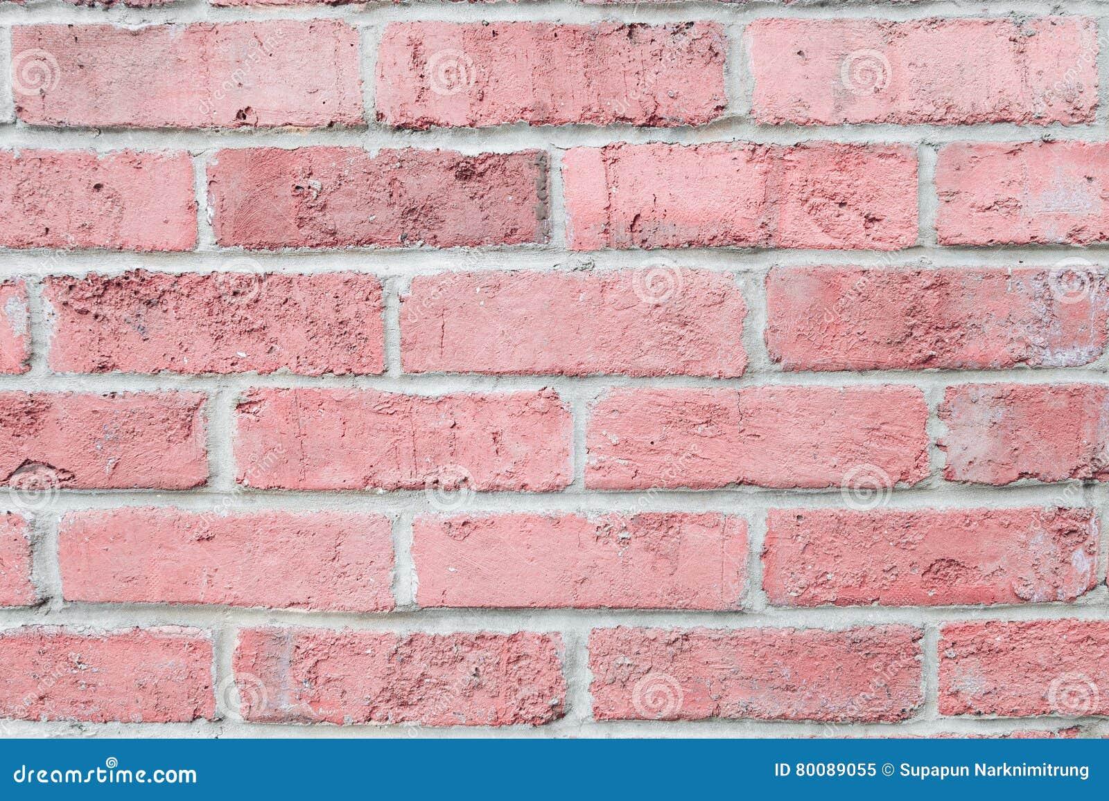 mur de briques de couleur de rose en pastel de vintage. Black Bedroom Furniture Sets. Home Design Ideas
