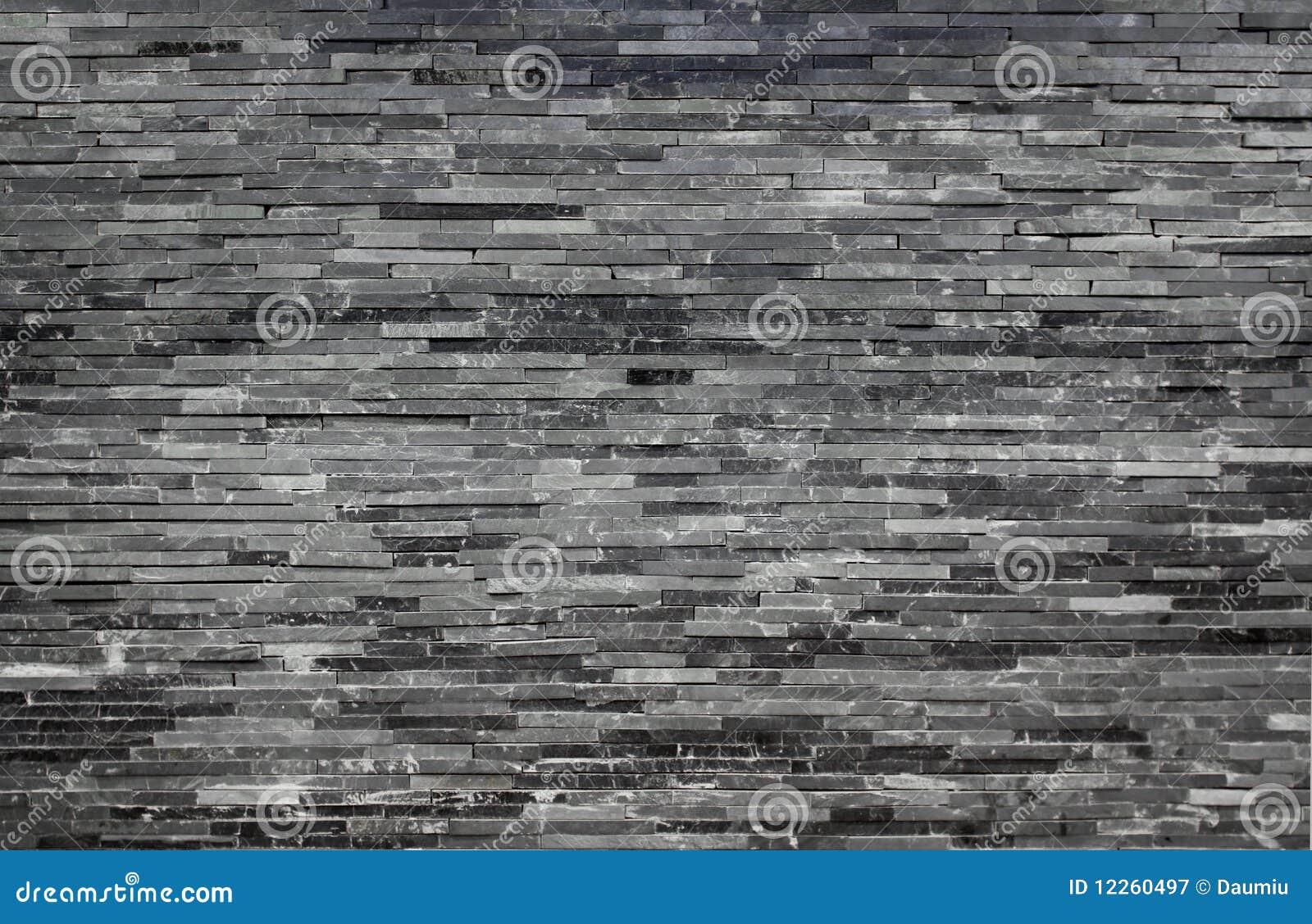 mur de briques de marbre contemporain photographie stock libre de droits image 12260497. Black Bedroom Furniture Sets. Home Design Ideas