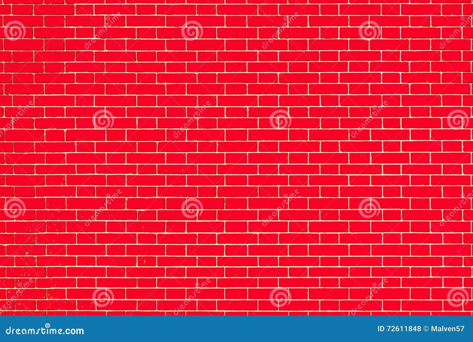 Mur De Briques De Texture De Couleur Rouge Photo Stock Image Du