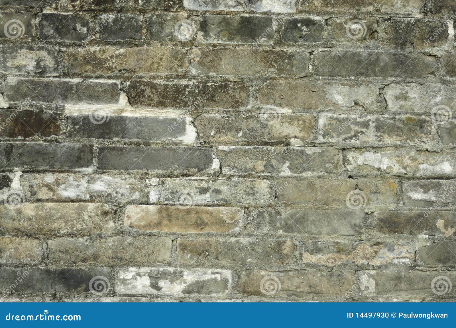 mur de briques gris photo stock image du brique anglais 14497930. Black Bedroom Furniture Sets. Home Design Ideas
